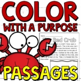 Color with a Purpose Reading Passages for First and Second