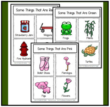 Color Flashcards and Worksheets to Practice Color Recognition
