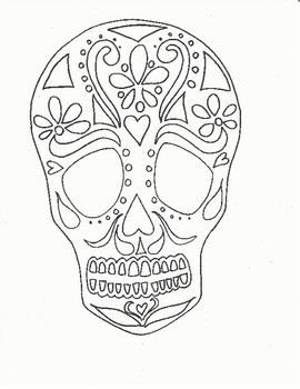 Color your own Sugar Skull!