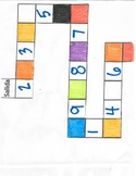 Color/Number boardgame prt II