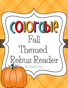Colorable Rebus Reader - Fabulous Fall!