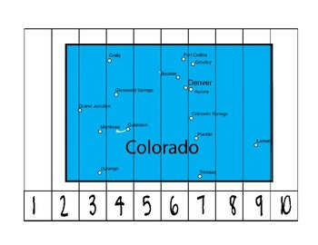 Colorado Counting Puzzle