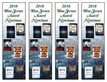 Colorado 2018  Blue Spruce Award Bookmark