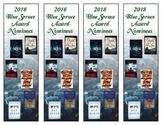 Colorado 2018  Blue Spruce Award Bookmark