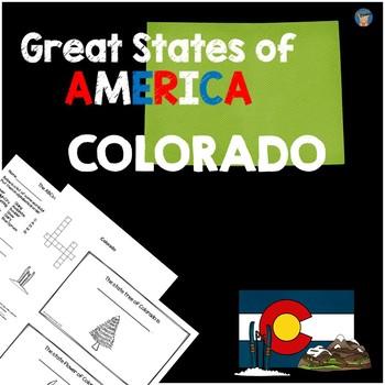 Colorado Activity Packet