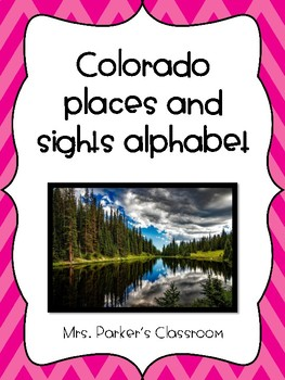 Colorado Alphabet