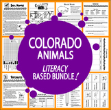 Colorado Animals (NINE Vertebrates & Invertebrates Animal Adaptation Lessons)