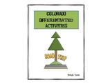 Colorado Differentiated State Activities