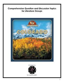 """""""Colorado: From Sea to Shining Sea"""" Comprehension and Voca"""