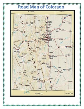 Colorado Geography, Maps, Flag, Data, and Assessment