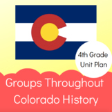 Colorado Groups Throughout History Perspective & Empathy Unit