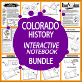 Colorado History Bundle – 6 Engaging Literacy-Based Colorado State Study Lessons