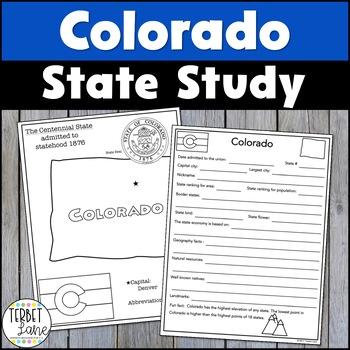 Colorado History and Symbols Unit Study
