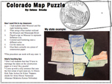 Colorado Map Puzzle