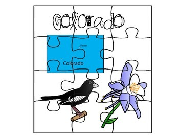 Colorado Puzzle Map Set