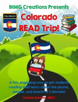Colorado READ Trip-ELA & CO History-No Prep!