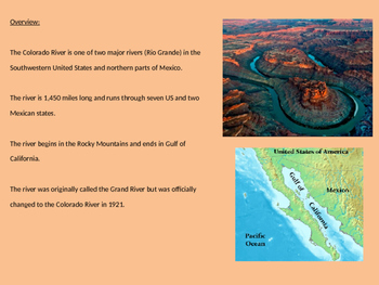 Colorado River Basin - Power Point history, facts, information pictures