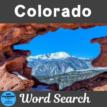 Colorado Search and Find
