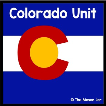 Colorado Social Studies Unit - (No Prep)