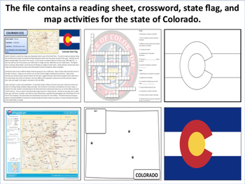 Colorado - State Activity Set