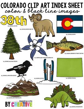 Colorado State Clip Art