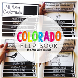 Colorado State Flipbook Interactive Activity for Social Studies