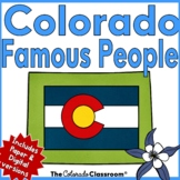 Colorado State History | Famous People of Colorado History Unit