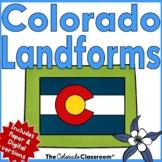 Colorado State History   Landforms Unit