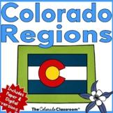 Colorado State History   Regions of Colorado Unit