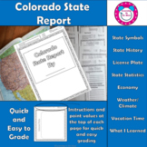 Colorado State Report