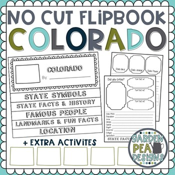 Colorado State Research Flip Book