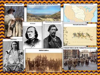 Colorado State Study & Bulletin Board Set