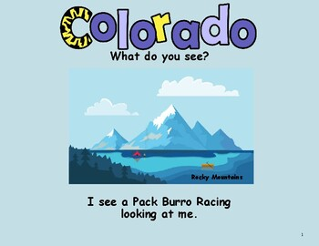 Colorado State Symbol Teacher Book