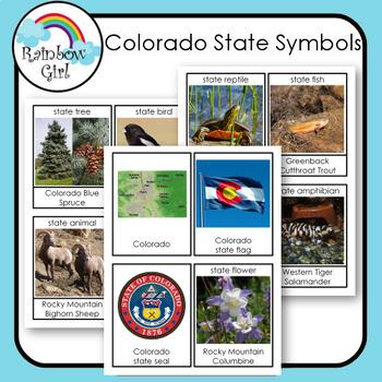 Colorado State Symbols Cards