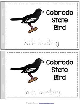 Colorado State Symbols Notebook