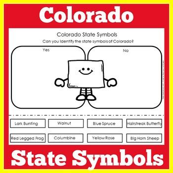 Colorado State Symbols Worksheet