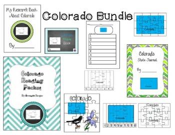 Colorado Themed Bundle- 10 resources