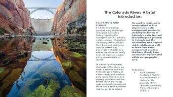 Colorado Water Management: Learning From Our Past to Protect Our Future