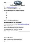 Colorado Web Quest