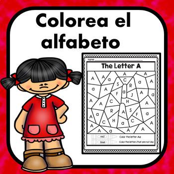 Colorea el alfabeto