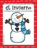 Colorea por Números-En Español/Hombre de Nieve