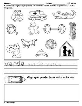 Coloreando en espanol