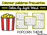 Colorear palabras frecuentes-Color by Sight Word-SPANISH R