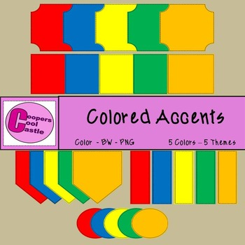 Colored Accents