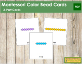 Montessori Colored Beads and Golden Beads