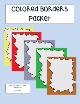 Colored Borders Pack