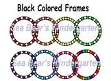 Colored Circle Frame Clip Art