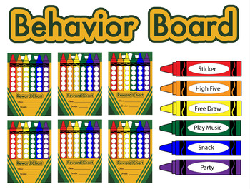 Colored Crayon Signs
