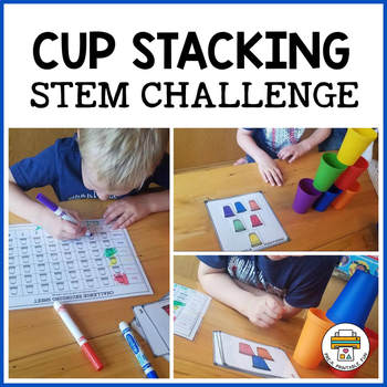 Colored Cup STEM Challenges