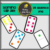 Colored Domino Clipart